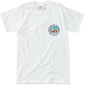 Hippy Tree Headland Shortsleeve Shirt Men white